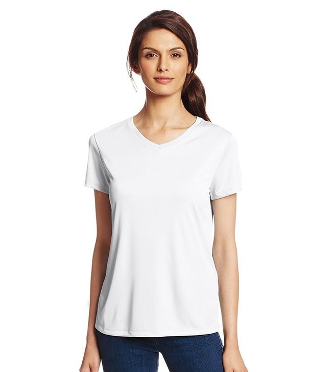 Hanes Short-Sleeve Cool DRI Performance V-Neck T-Shirt