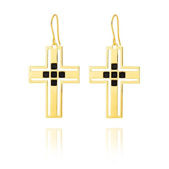 F + H Jewellery The Sioux Cross Earring