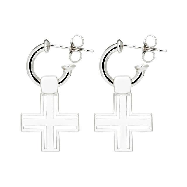 F + H Jewellery The Sioux Cross Earrings