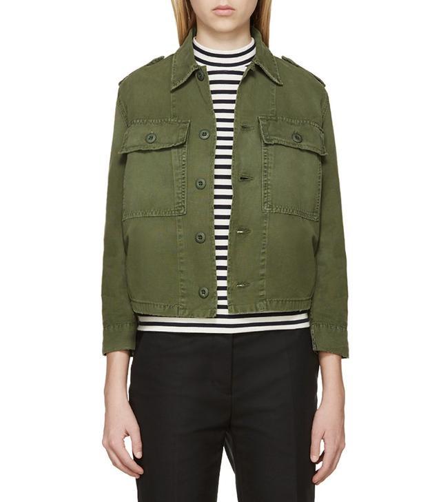 Amo Green Military Jacket