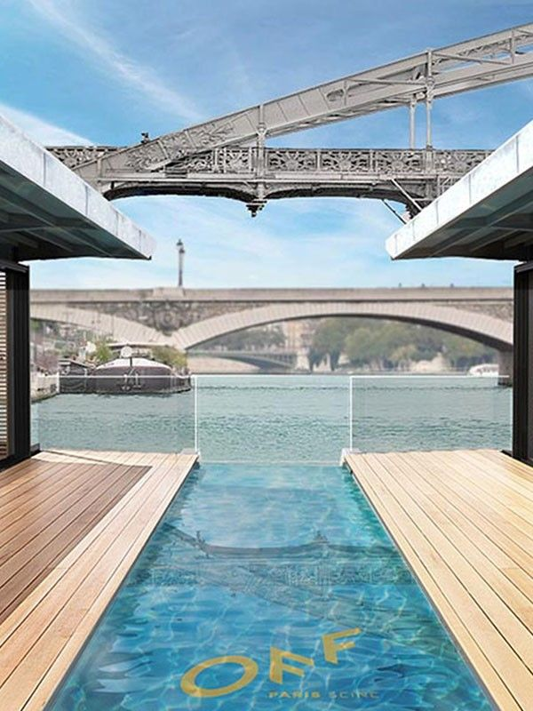 Paris U0026 39 S First Floating Hotel Is The Ultimate Relaxing