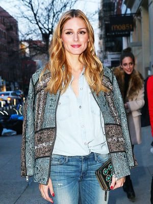 Olivia Palermo Can't Stop Wearing These Skinny Jeans