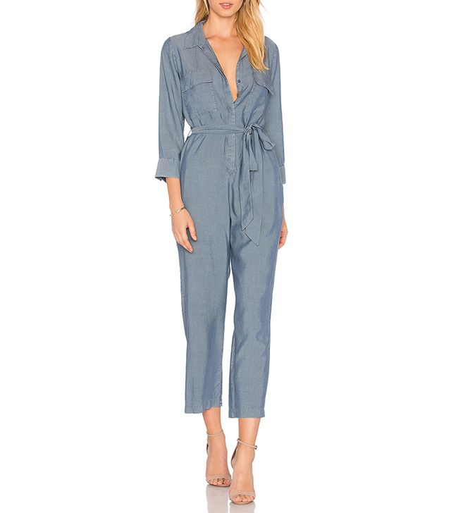 Delia Jumpsuit in Blue. - size 0 (also in 2,4,6)