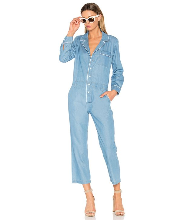 Boiler Jumpsuit in Blue. - size M (also in S,XS)