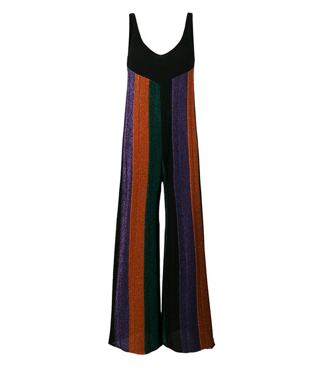 Circus Hotel Glitter Striped Jumpsuit