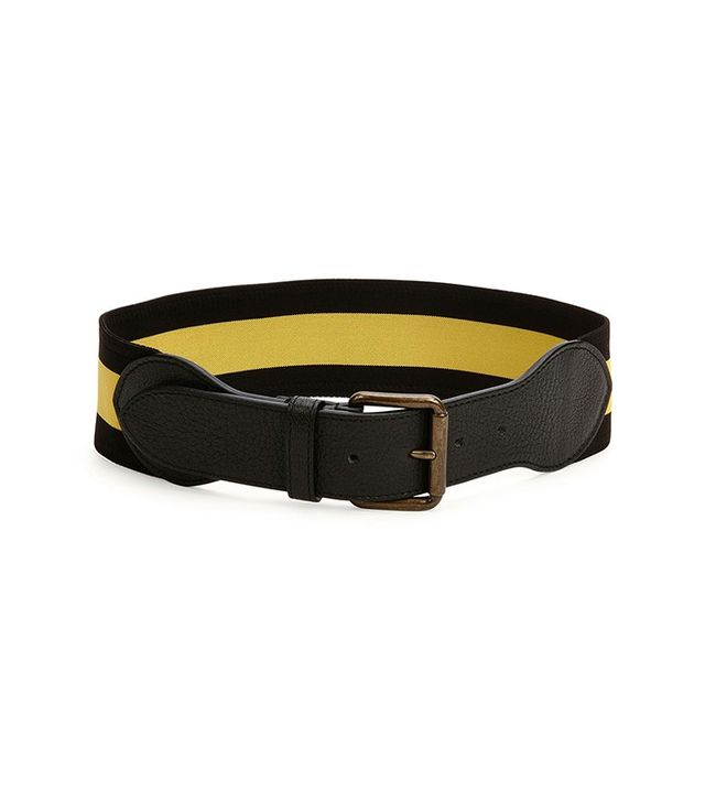 Thomas Maier Two-tone Striped Belt