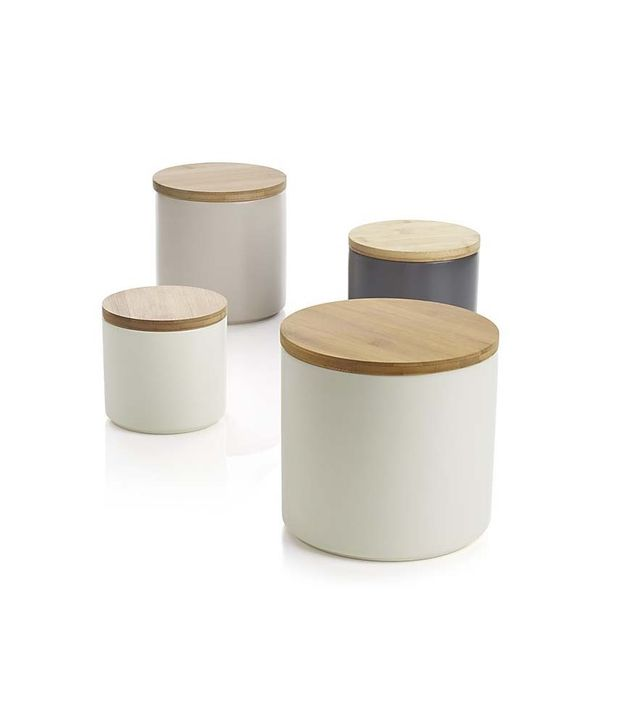 Crate and Barrel Silo Cannisters