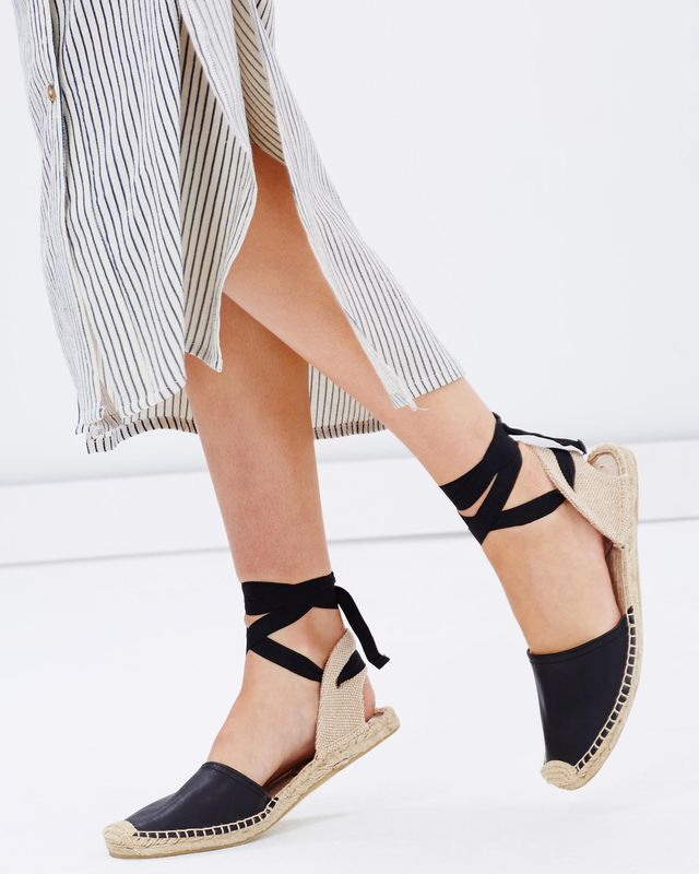 Soludos Classic Leather Sandals
