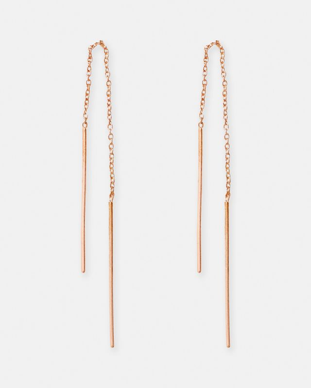 By Charlotte Thread Earrings