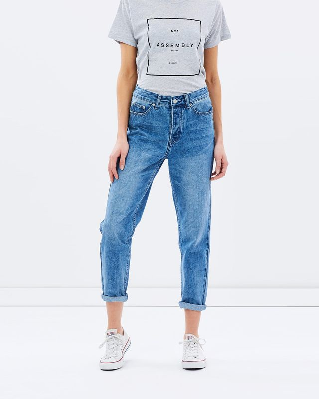 Assembly High Waist Jeans