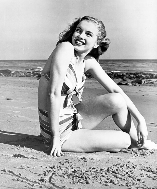 Monroe was effortlessly glamorous.