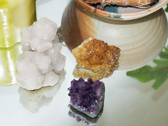 How to Get Into Crystal Healing Without Believing in Magic