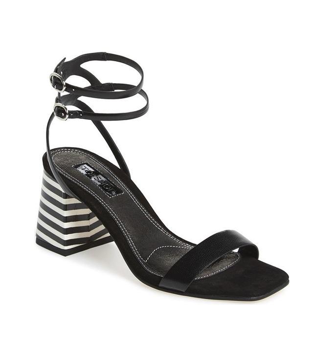 Topshop Nipper Ankle Wrap Sandals