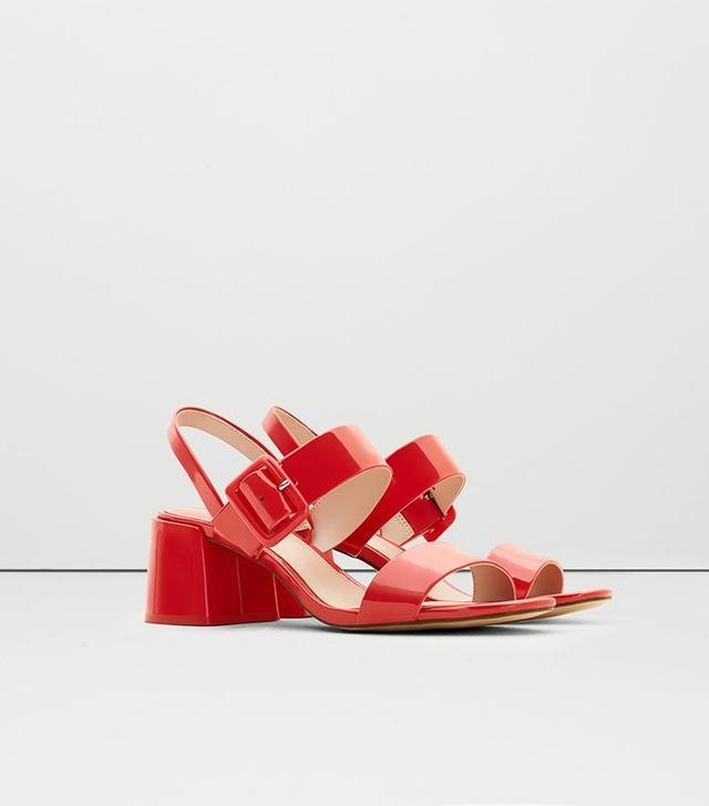 Mango Victoria Wide Straps Sandals