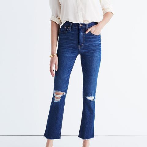 Los Feliz Crop Flare Jeans