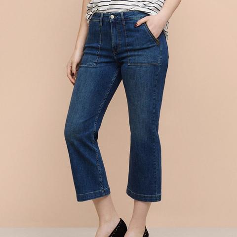 Flare Crop Dakota Jeans