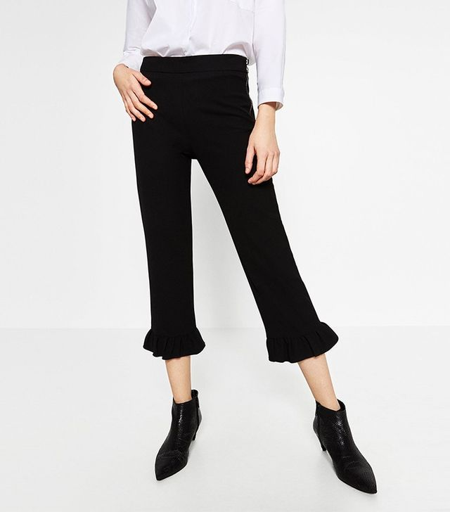 Zara Frilled Trousers