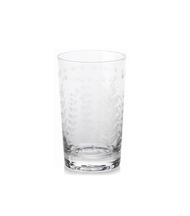 Zodax Spring Leaves Highball Glasses