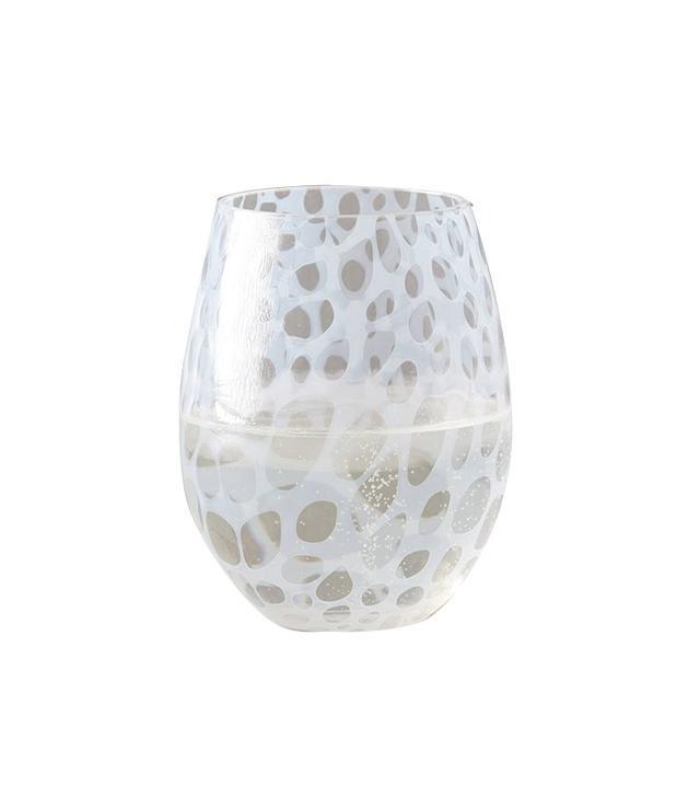 Anthropologie Treillage Stemless Wine Glass