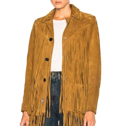 Texan Suede Fringe Jacket