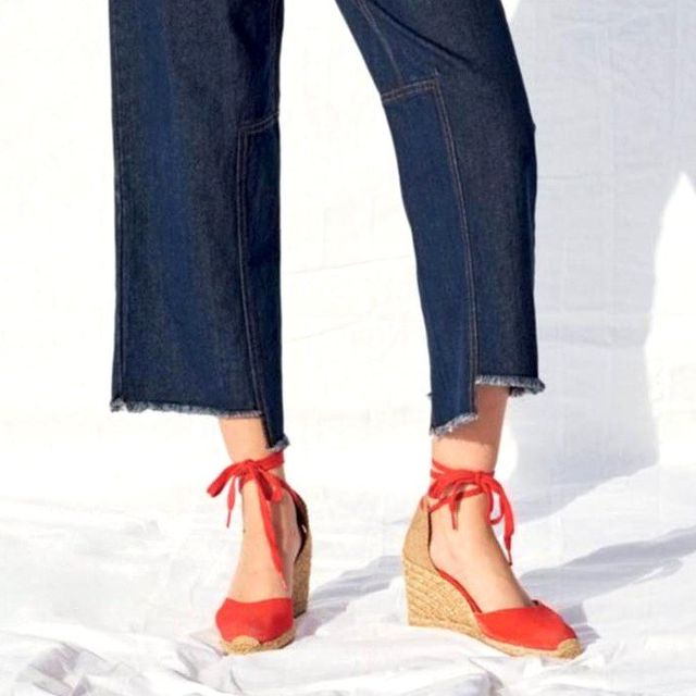 2 French-Inspired Ways to Wear Espadrille Wedges