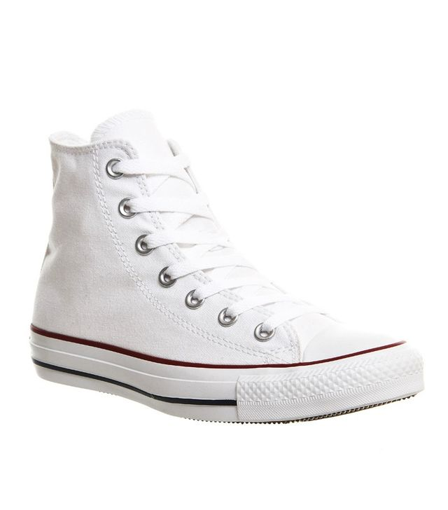 converses white trainers