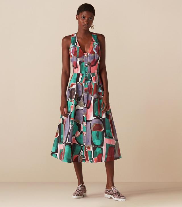 Finery printed dress