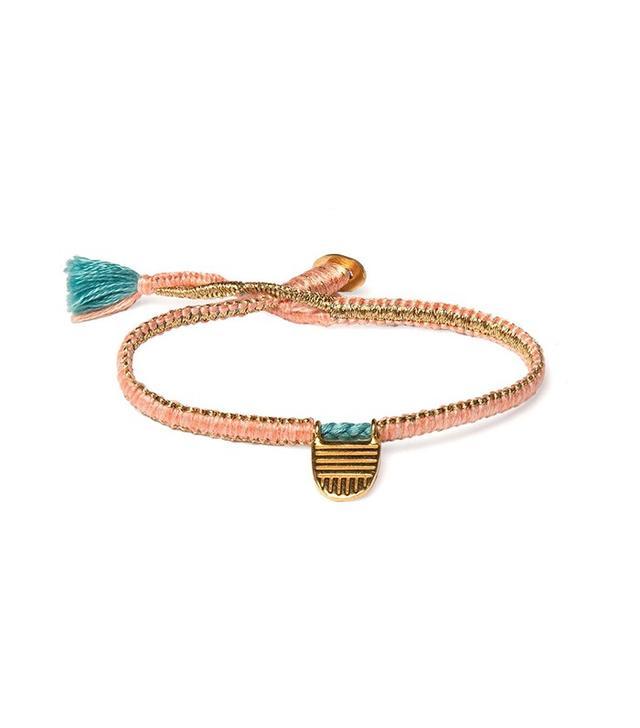 The Brave Collection Flamingo Buddhist Flag Bracelet