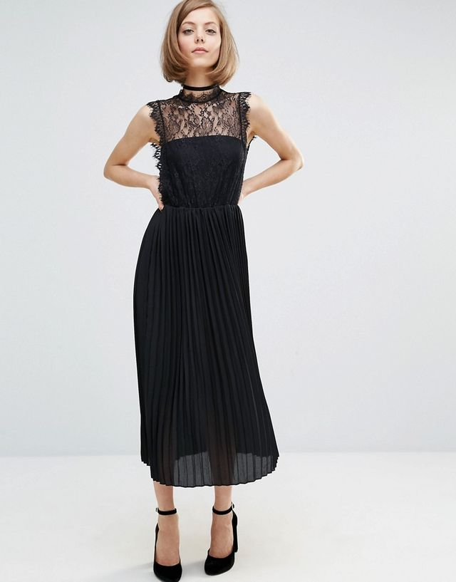 Lost Ink Lace Layer Dress