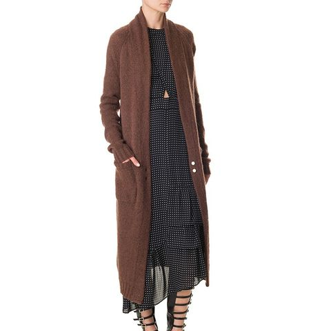 Mohair Cozy Long Cardigan
