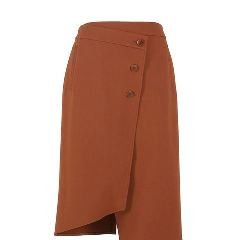 Anson Stretch Wrap Skirt