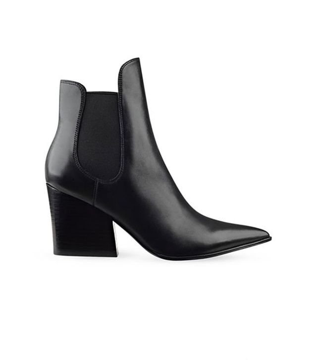 KENDALL + KYLIE Finley Pointed Toe Black Booties