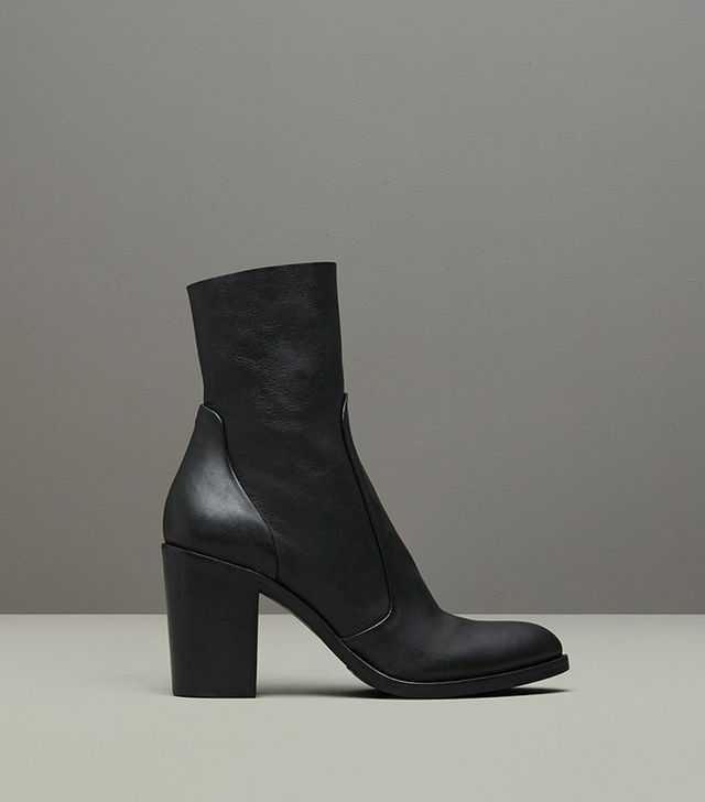 Kenneth Cole Tucker Pebbled Leather Ankle Boot