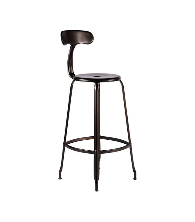 Rejuvenation Nicolle Bar Stool With Back