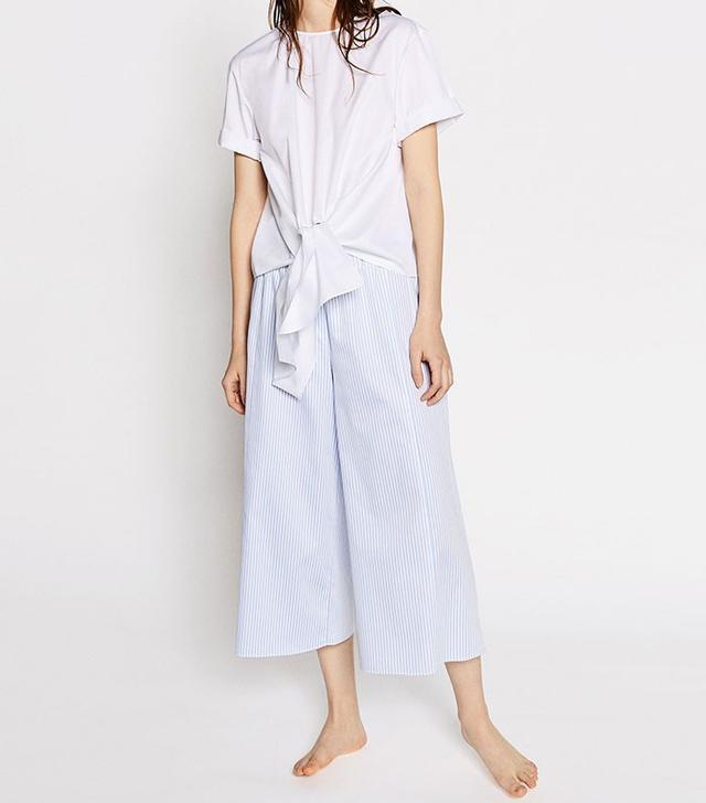 Zara Studio Knot Shirt