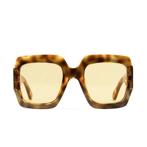 Oversize Square-Frame Sunglasses