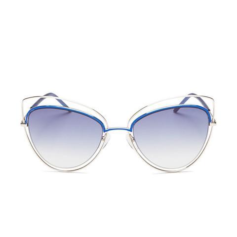 Floating Cat-eye Sunglasses