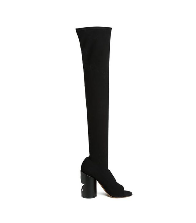 Givenchy Star Heel Thigh High Boots