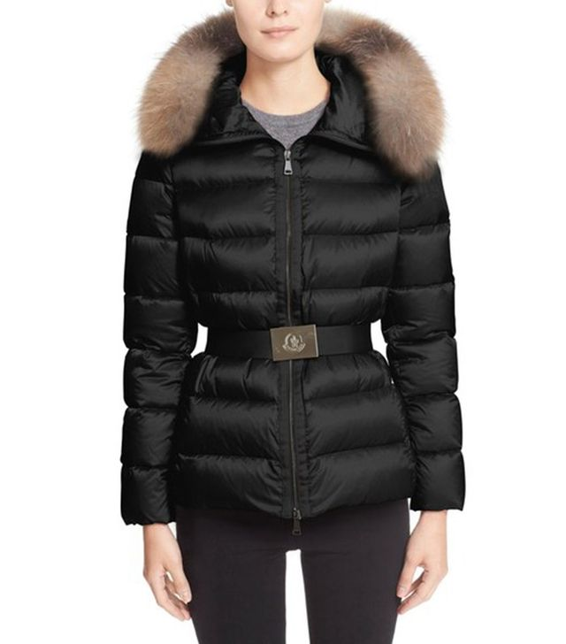 Moncler Tatie Belted Down Puffer Coat