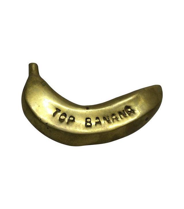 Vintage Brass Banana