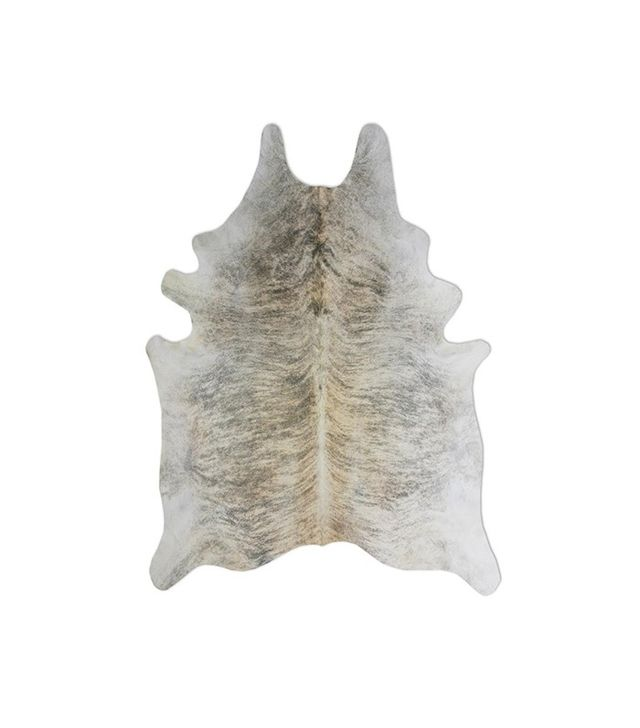 Pure Rugs Exotic Zebu Cowhide Rug
