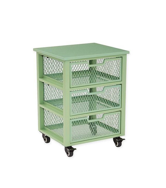 Office Star Products Clayton 3-Drawer Rolling Cart