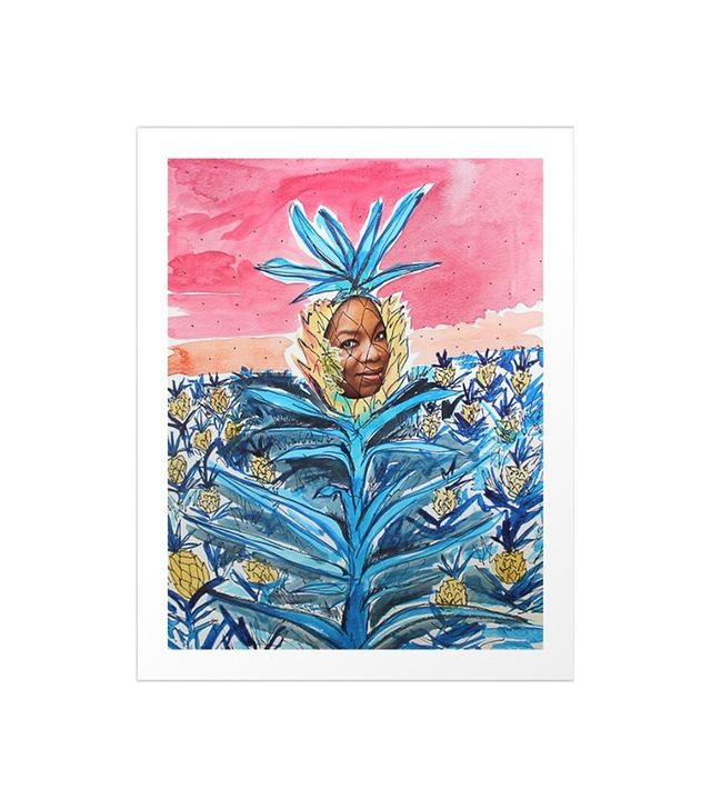 Society6 Pineapple Leader