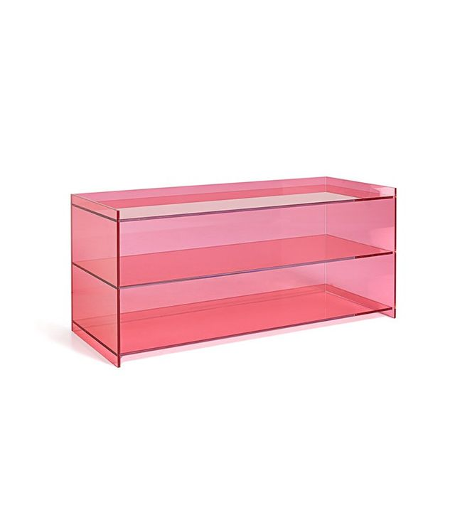 Glas Italia Pink Low Bookcase