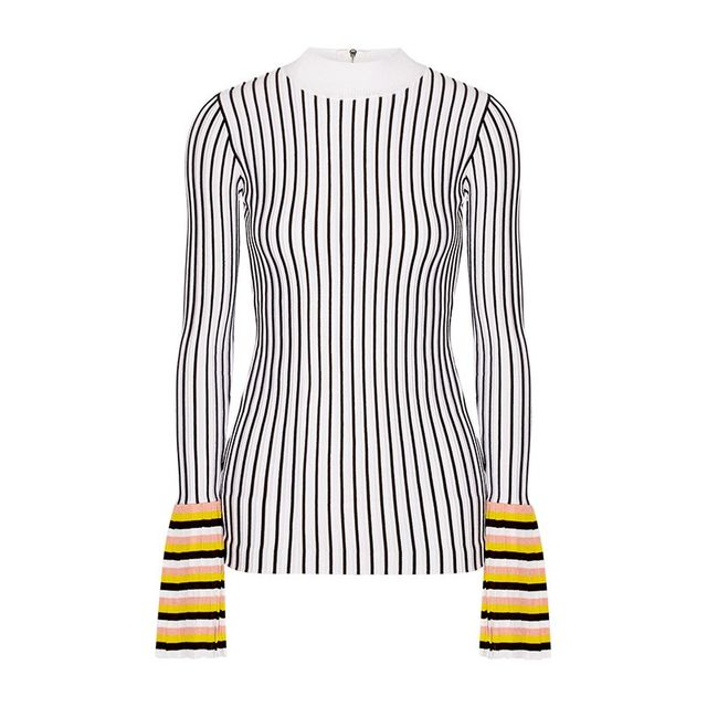 Emilio Pucci Striped Knit Sweater