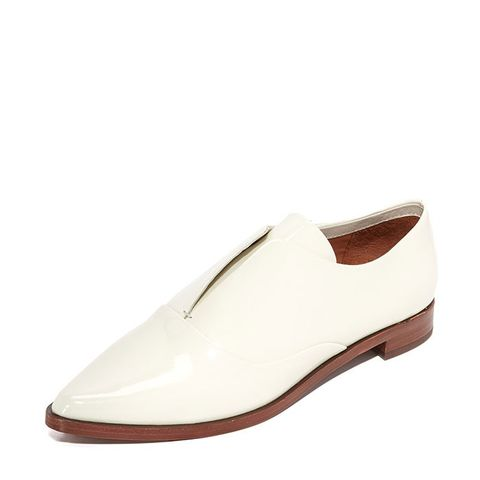 10 Crosby Addie Patent Leather Point-Toe Loafers