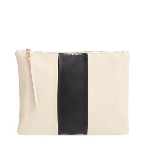 Radcliffe Faux Leather Clutch
