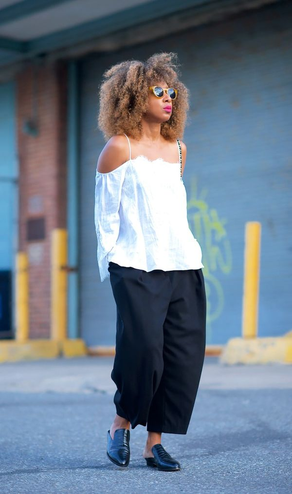 8. Always try the season's biggest trend in an unexpected way. 