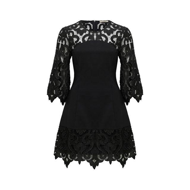 Thurley Baroque Lace Dress