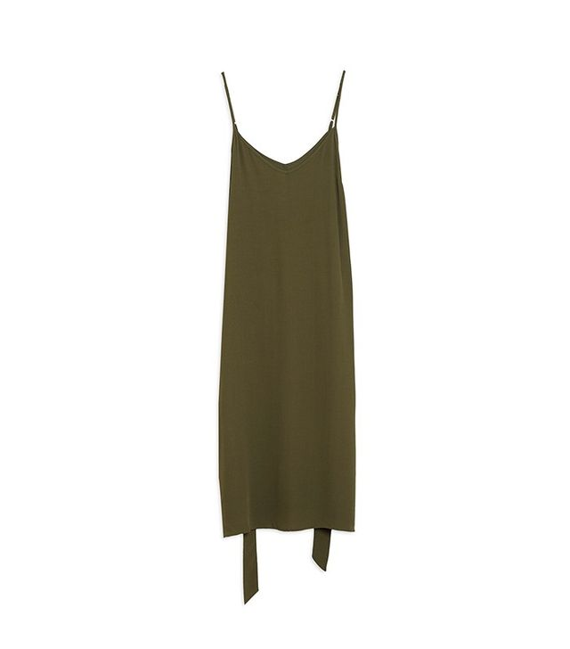 Who What Wear Belted Slip Dress